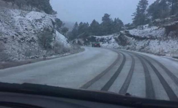 Suman 8 municipios en el estado con nevadas
