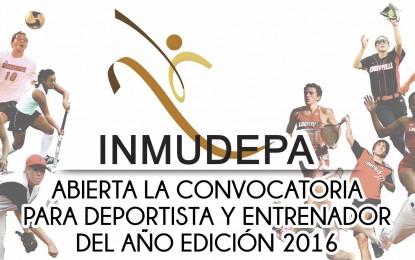 Abierta la convocatoria para el deportista y entrenador del año, edición 2016