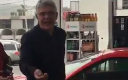 Irrita al 'Tuca' alza en gasolina (VIDEO)
