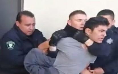 Se enfrentan Policía Estatal y manifestantes en Delicias