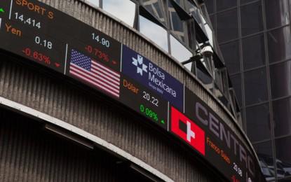 Peso se depreció 2.6% en sólo una semana; dólar cierra en $21.55
