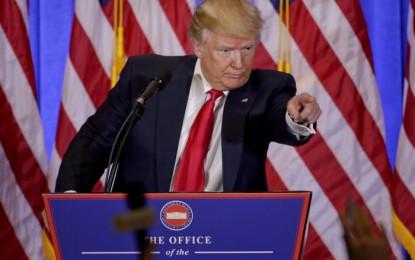 Empezaré el muro, no esperaré a un trato con México: Trump
