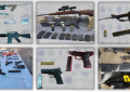 Incautó Policía Estatal 151 armas y 3 mil vehículos a delincuentes