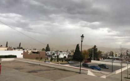 Emite municipio alerta por rachas de viento y bajas temperaturas