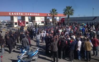 Retoman casetas de Camargo, Jiménez y Cuahtémoc