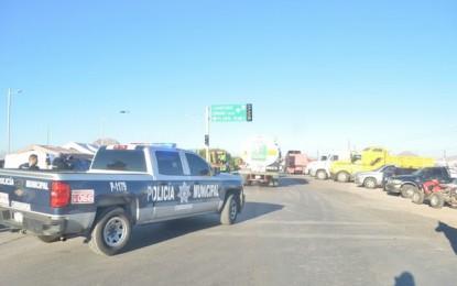 Apoya DSPM en la liberación de las instalaciones de Pemex y caseta Sacramento