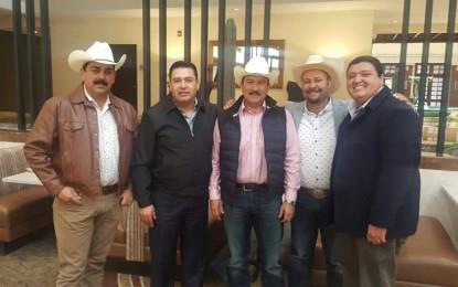 Se reúne el diputado Hermosillo con alcaldes de Satevó, Cusihuiriachi, Santa Isabel y Riva Palacio