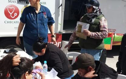 Realizó la Jurisdicción III feria de la salud en Guadalupe y Calvo