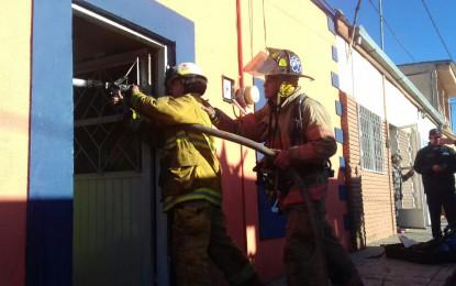 Incendio en restaurante Camarón Bucanero
