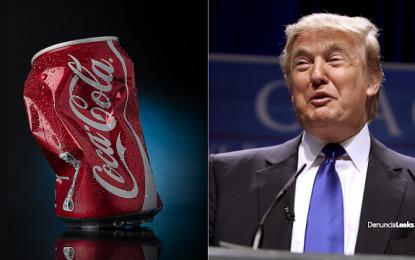 Donald Trump ORDENA A COCA-COLA abandonar producción en México