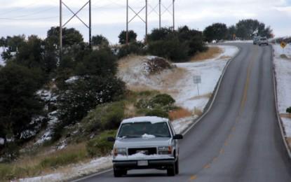 Regresa el frío; pronostican nieve en zonas serranas