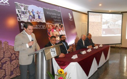 Presenta FECHAC informe de actividades del 2016 en el casino de Parral