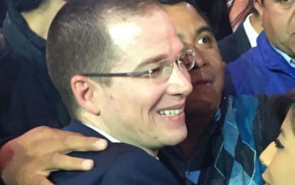"""PRI """"nos heredó desastre"""" en Chihuahua y Veracruz, justifica Ricardo Anaya"""