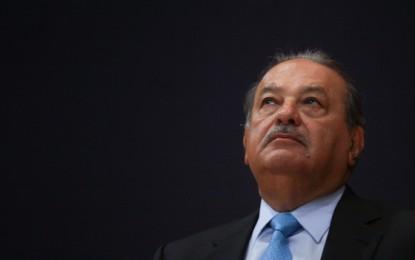 Carlos Slim cae al sexto lugar en la lista de multimillonarios de Forbes