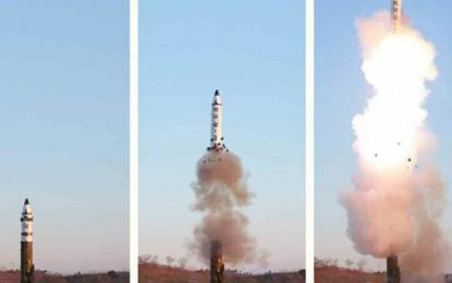 Lanza Corea del Norte misil al Mar de Japón