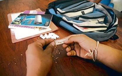 Casi 2 millones de estudiantes entre 10 y 17 años han usado drogas