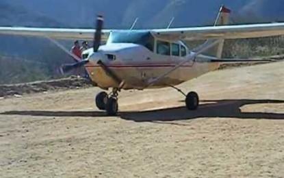 En avioneta trasladan de urgencia a bebé de Témoris a Chihuahua