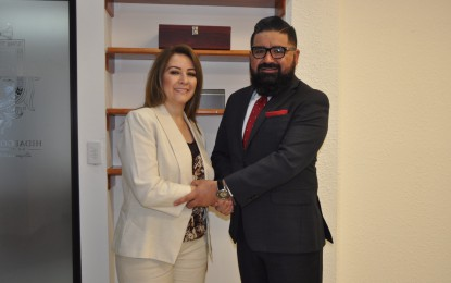 Designan a Norma Duarte como Tesorera del Municipio