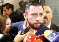 """Tarín exige en San Lázaro que le tomen protesta; lo """"dejan en visto"""""""