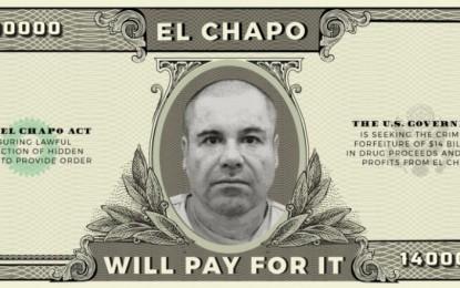 Proponen en EU iniciativa de ley para que El Chapo pague muro de Trump
