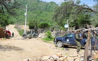 """Ejército y PEU """"peinan"""" límites entre Chihuahua, Sonora y Sinaloa"""