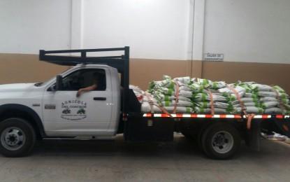 Entrega la Secretaría de Desarrollo Rural 2400 Kg. de semilla de maíz en Zaragoza