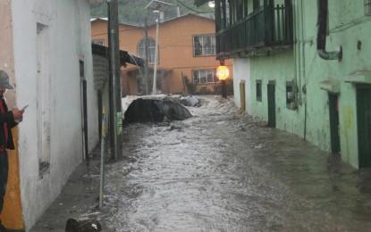 GALERÍA: Tormenta en Gpe y Calvo afecta viviendas y comercios