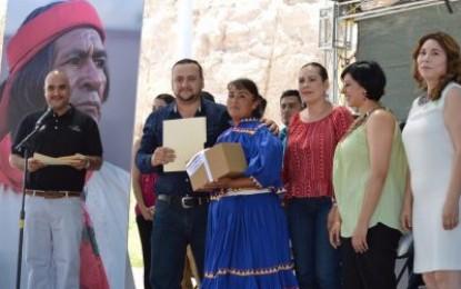 Asiste alcalde de Balleza a inauguración del Tercer Encuentro Indigenista
