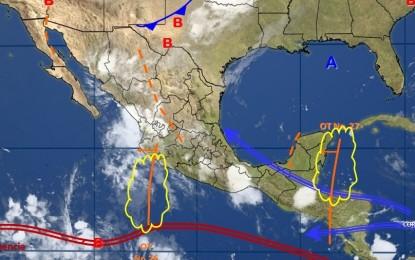 Jueves lluvioso con máxima de 28ºC para Chihuahua: Meteorológico