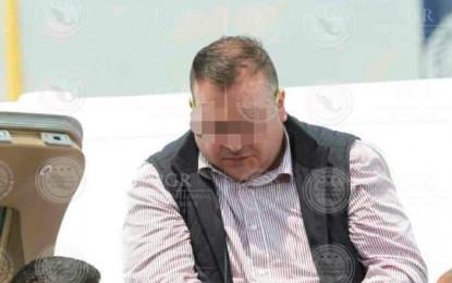 Sin alteraciones en su salud, Javier Duarte cumple cinco días en huelga de hambre
