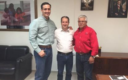 Se reúne sindico de Parral con autoridades de Guachochi