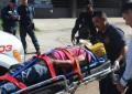 VÍDEO: Joven cae desde lo alto de una vivienda en la col. AltaVista