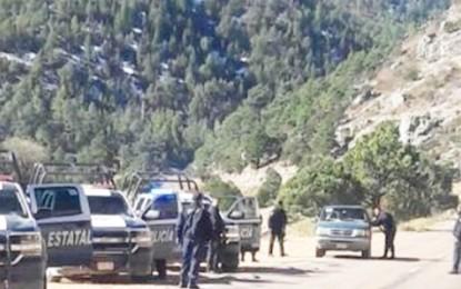 Trasciende enfrentamiento armado en Llano Blanco Gpe. y Calvo