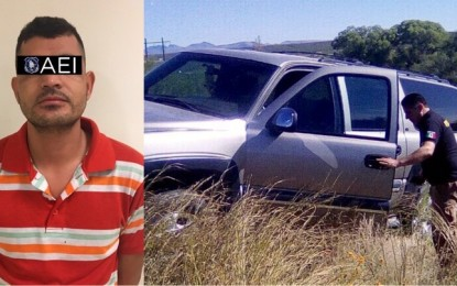 Detienen en Satevó al conductor de Suburban robada
