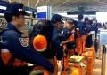Brigadas Japonesas ayudan en labores de rescate en Tlalpan