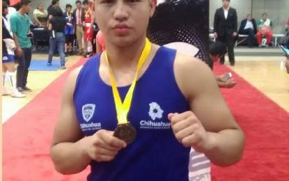 Boxeador Parralense rumbo a Juegos Olímpicos de la Juventud 2018