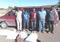 Detienen a cinco por presunto robo de nuez en Jiménez