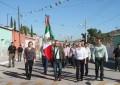 Realizan desfile del 20 de noviembre en Balleza