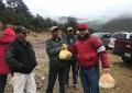 Inicia Arturo Medina entrega de despensas por temporada invernal en Balleza