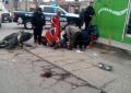 Choque entre particular y motociclista deja dos lesionados
