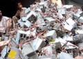 Aumento de basura electrónica trae riesgo al medioambiente y salud; advierte la ONU
