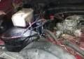 Incendio de vehículo en la 20 de Noviembre
