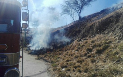 Incendios de pasto general movilización bomberos en varios puntos de la ciudad