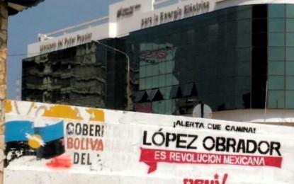 Viral: Hacen publicidad a AMLO en Venezuela con partido de Maduro