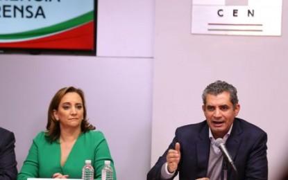 Corral miente y sigue instrucciones de su jefe Anaya, dice Iíder nacional del PRI