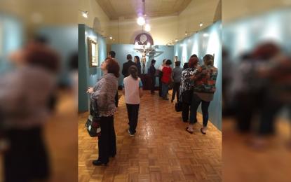 """Inauguran exposición colectiva de arte sacro """"rostros del arte"""""""