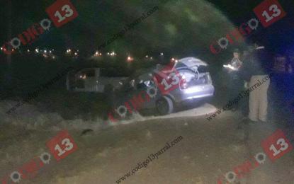 Encontronazo en Guachochi-Yoquivo deja 5 personas sin vida