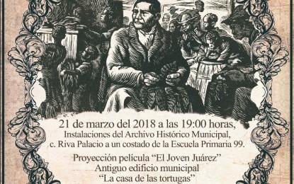 """La Presidencia Municipal de Parral invita a conocer más del ex Presidente """"Benito Juárez"""""""