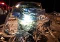 Carreterazo deja tres muertos y un lesionado en rúa Jimenez a Camargo