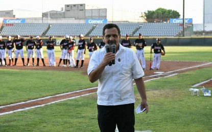 Arranca el Alcalde las acciones del Béisbol Estatal en Parral